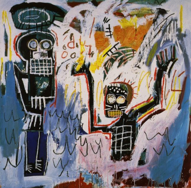 Baptism Jean-Michel Basquiat